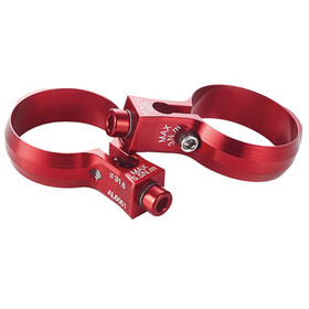 KCNC Seat Post Bottle Cage Clamp Ø30,9mm red